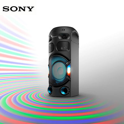 Sony MHC-V42D Party Speaker with Long Distance Bass Sound - Black