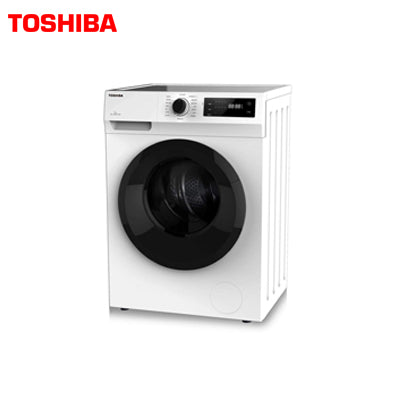 TOSHIBA WASHING MACHINE FRONT LOAD  TW-J80S2-IND 7.0 KG,T01 SERIES, UNIVERSAL ,WHITE
