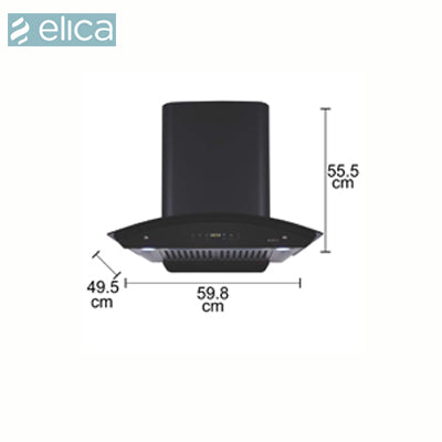 ELICA CHIMNEY WD HAC TOUCH BF 60