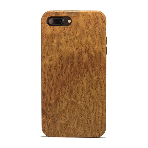 KerfCase Yellow Box Burl Wood iPhone Case for iPhone 7, iPhone 7 Plus