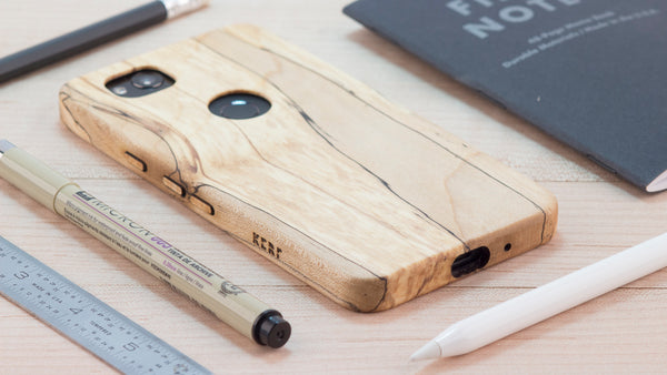 KerfCase Google Pixel 2 XL All Wood Case