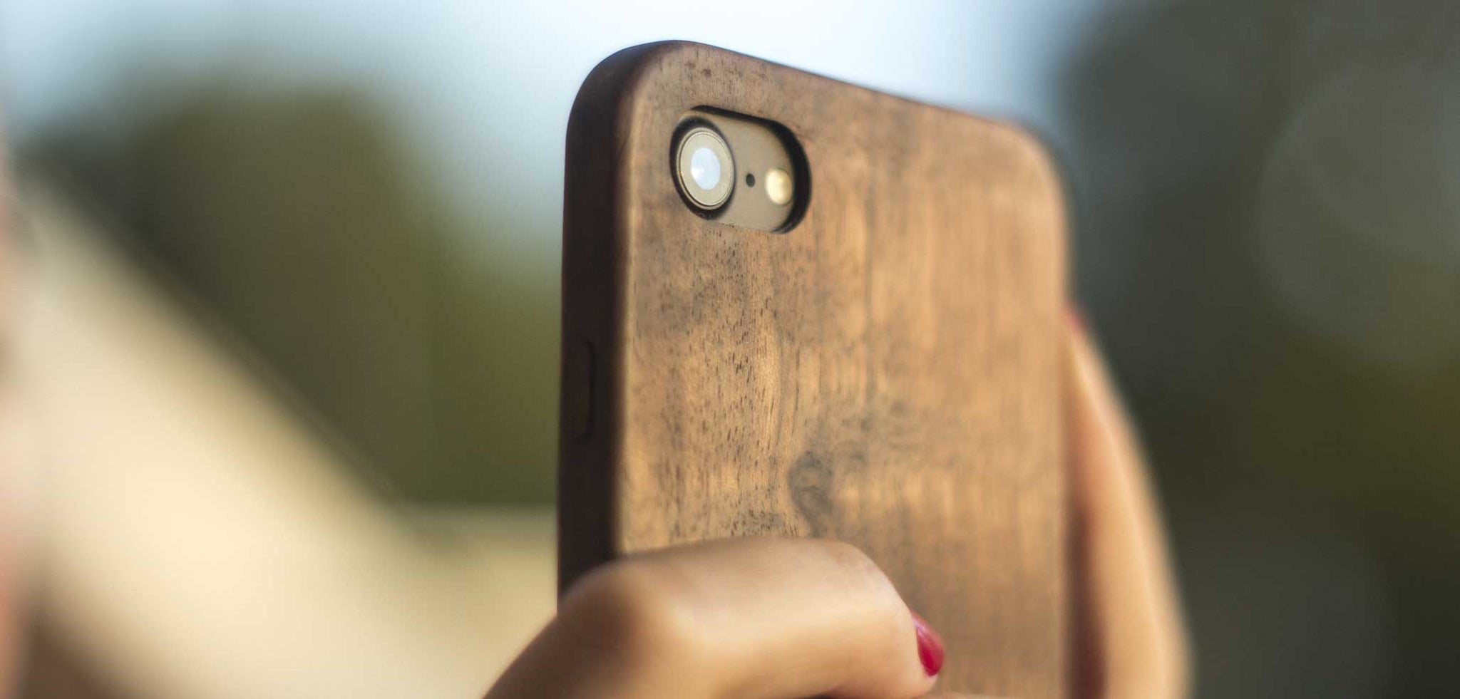 Wood iPhone 7 Case - KerfCase