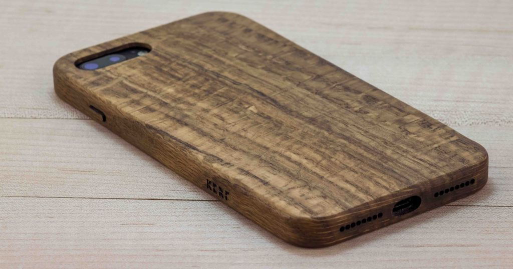 Figured Oak Case for iPhone 7 Plus