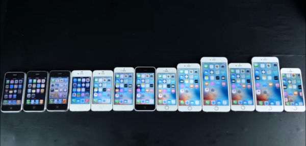 All iPhones So Far