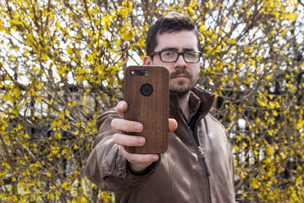 KerfCase Wood Case for Google Pixel 2 Pixel XL 2