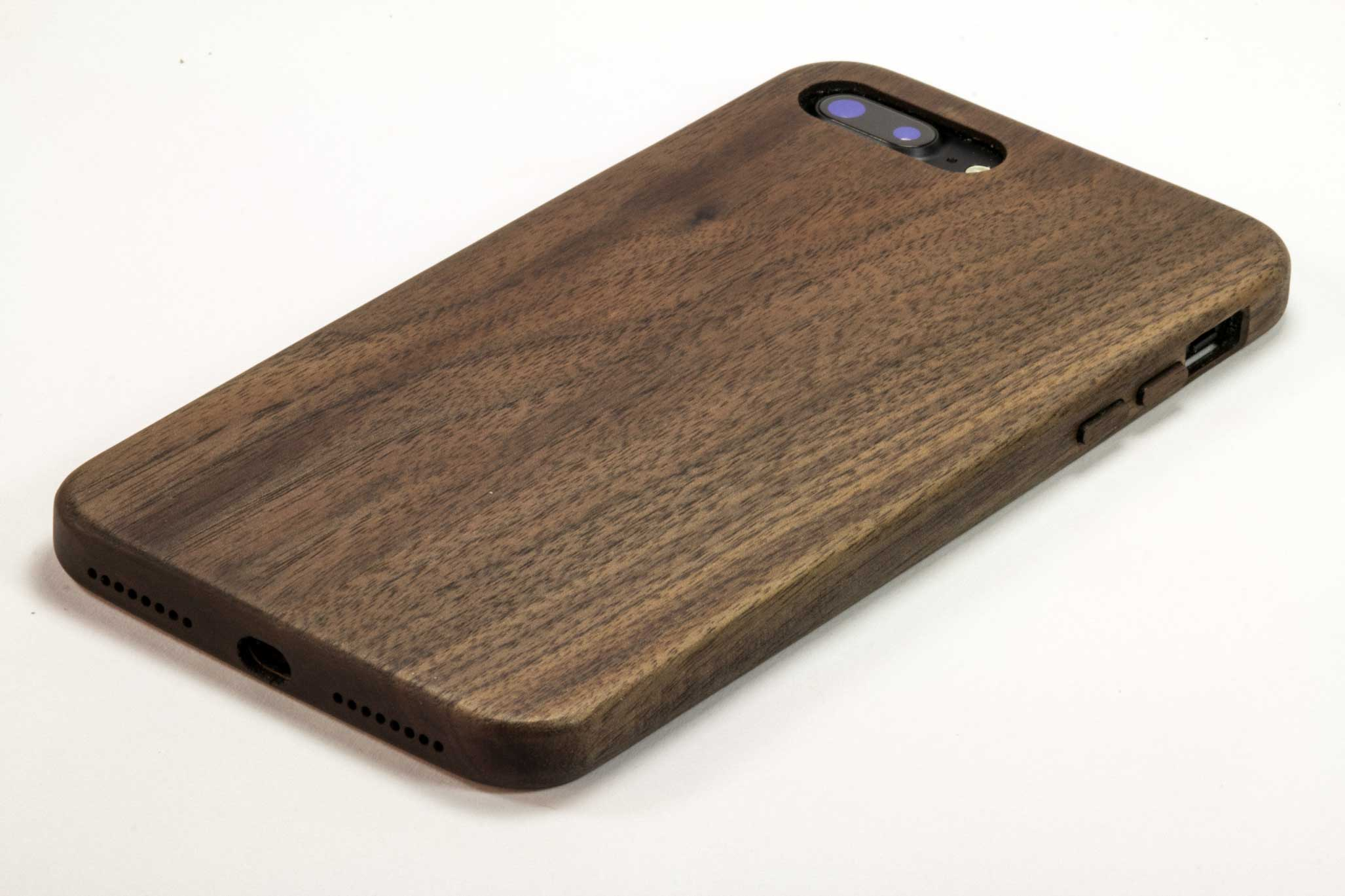 wood iphone 7 plus cases - natural wood - handmade