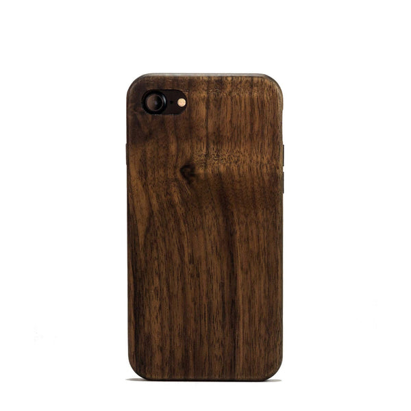 Natural Walnut Wood Case for iPhone 8