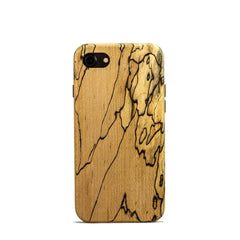 wood iPhone X Case - spalted maple