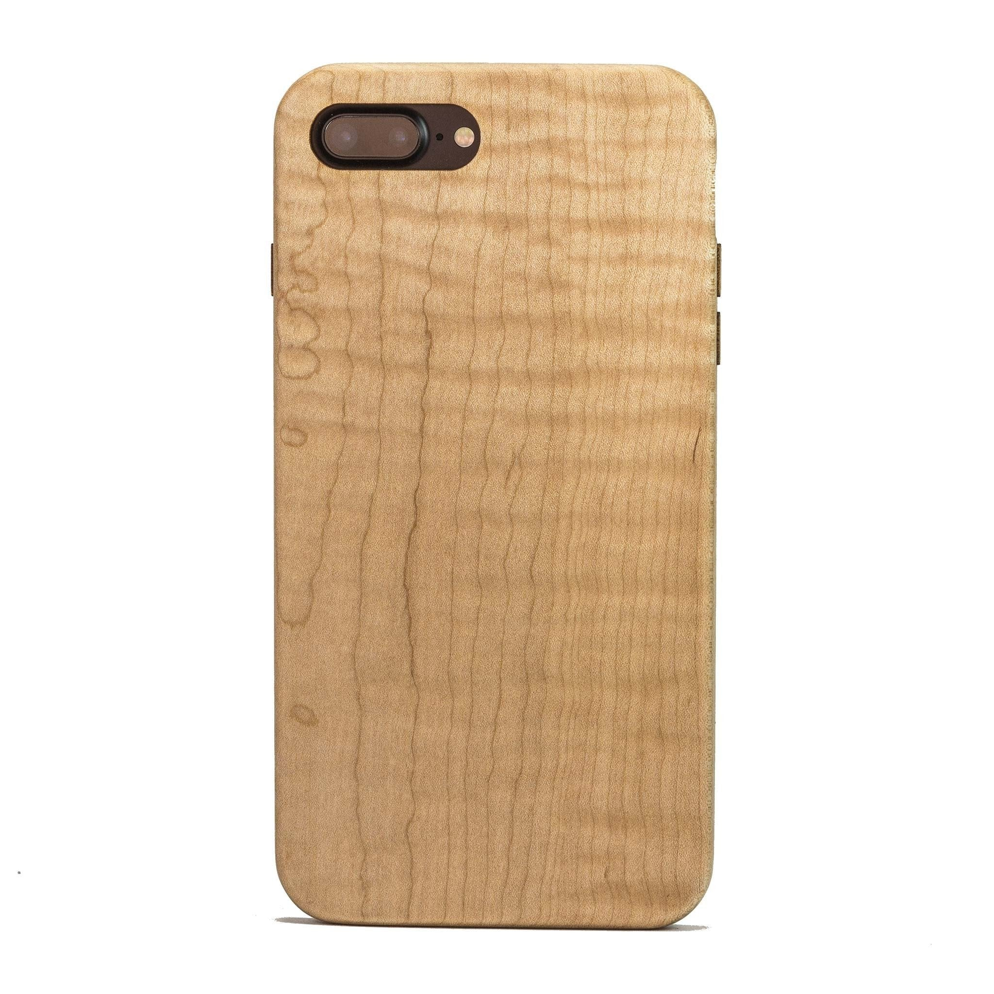 huge selection of 1460a e06da Maple Wood Case for iPhone 8 Plus