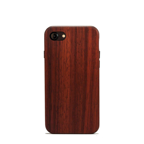 Padauk red wood iPhone 7 Case