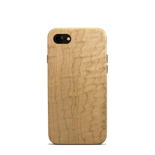 Maple wood case for iPhone 8