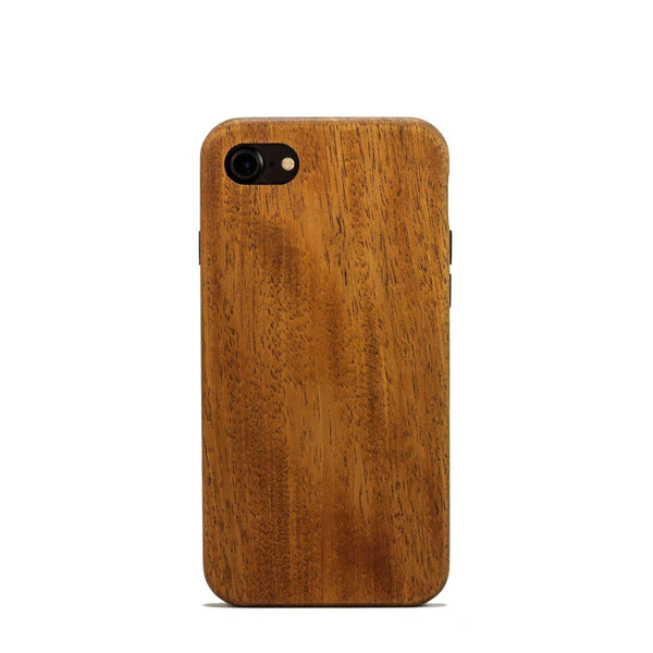 new arrival 515cd 89c7c Mahogany Wood Case for iPhone 8