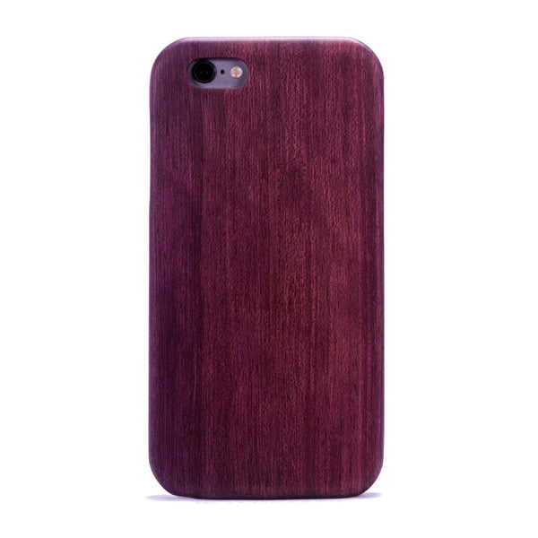Purple Heart Wood case for the iPhone 6 Plus