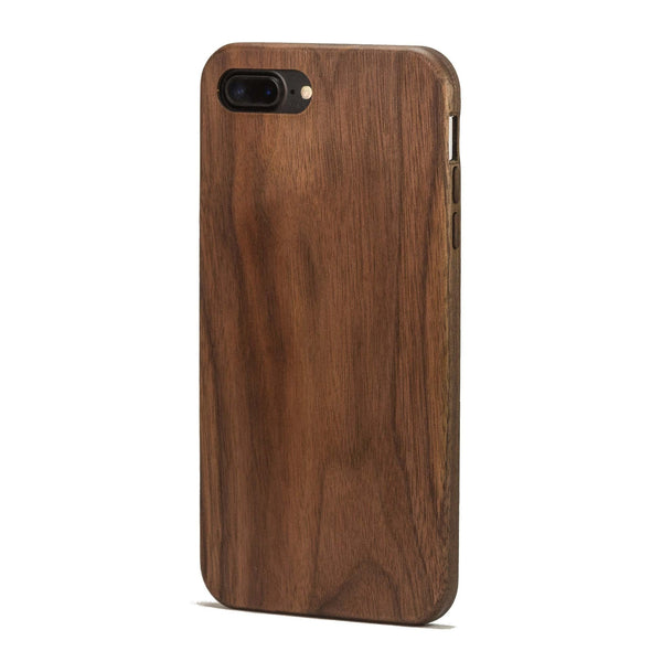 new concept 6b922 23c27 Walnut Wood Case for iPhone 8 Plus