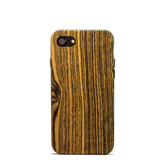 Bocote Wood case for the iPhone 7