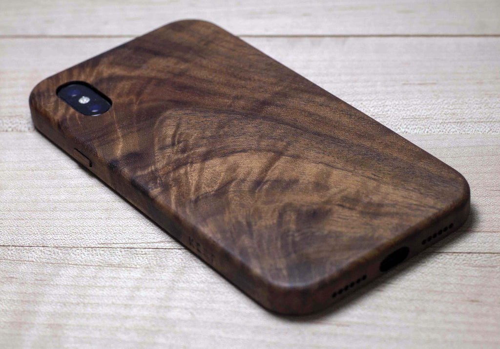 iphone xs wood case