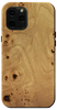 Kerf Select American Elm Burl Wood Case