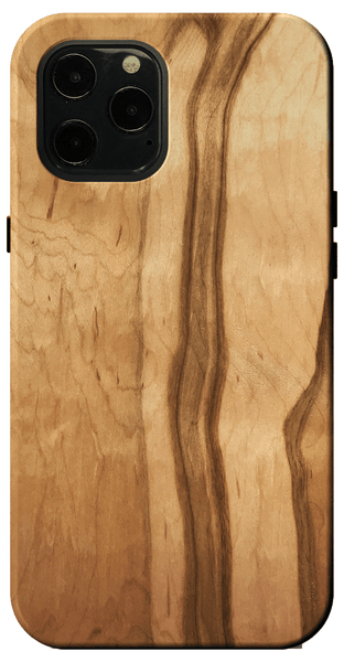 Kerf Select Figured Ambrosia Maple Wood Case
