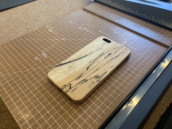 Spalted Maple Case for iPhone 6 Plus/6s Plus