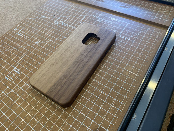Blonde Walnut Case for Samsung Galaxy S9
