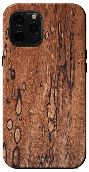 Kerf Select Spalted Mahogany Wood Case