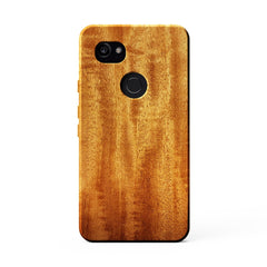 African Mahogany kerfcase wood phone case for google pixel 2 xl