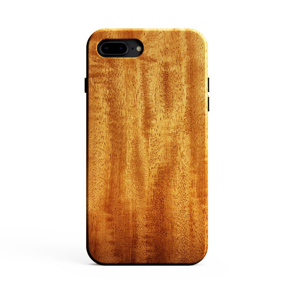 KerfCase African Mahogany Wood Phone Case for iPhone 7 Plus