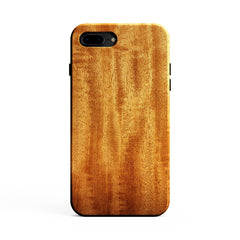 African Mahogany Wood Case for iPhone 8 Plus