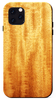 African mahogany  wood iPhone 11 pro max kerf phone case