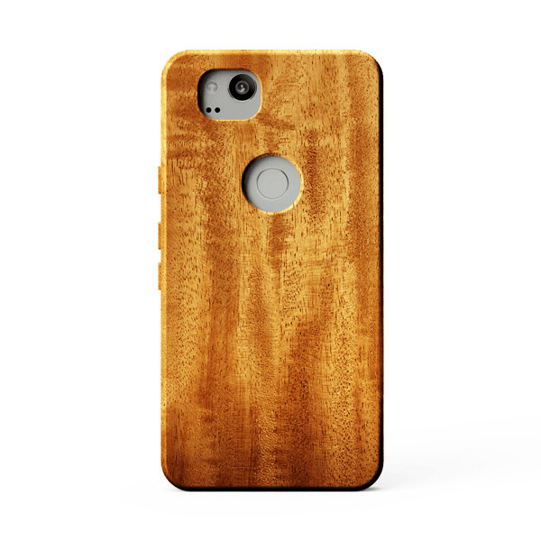 African Mahogany Wood Case for Google Pixel 2