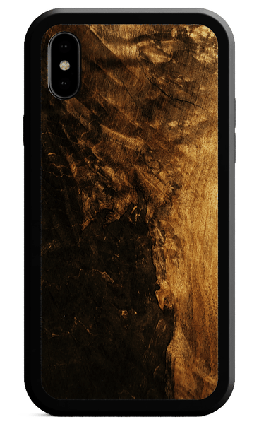Kerf Select Black Maple Burl Alloy Case