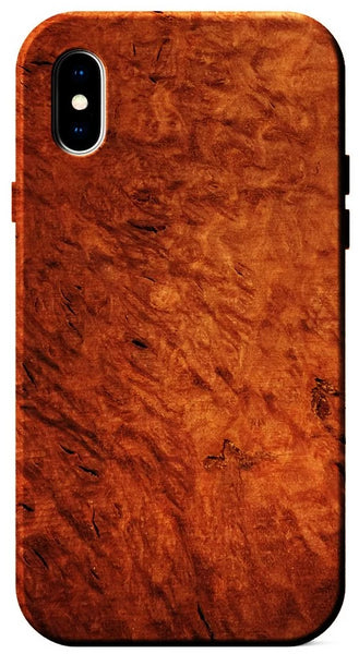 Amboyna Burl Wood case for iPhone