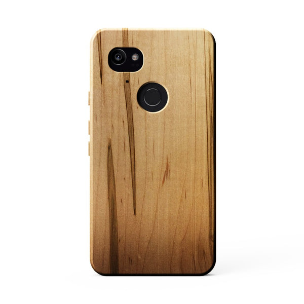 KerfCase Ambrosia Maple Wood Phone Case for Google Pixel 2 XL