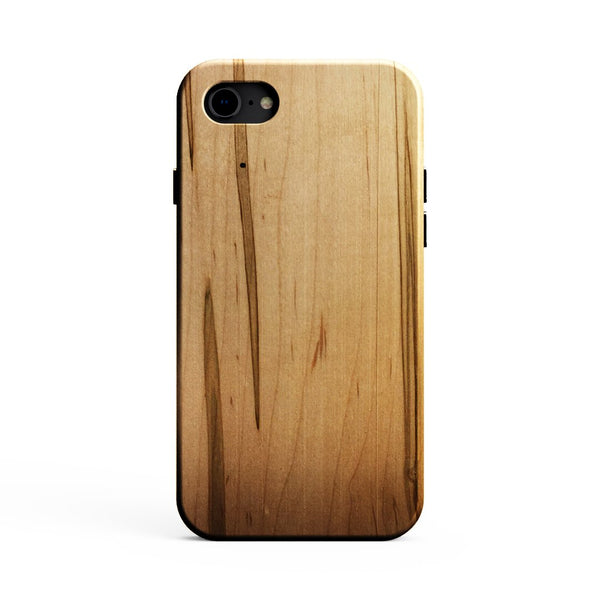 KerfCase Ambrosia Maple Wood case for iPhone 8