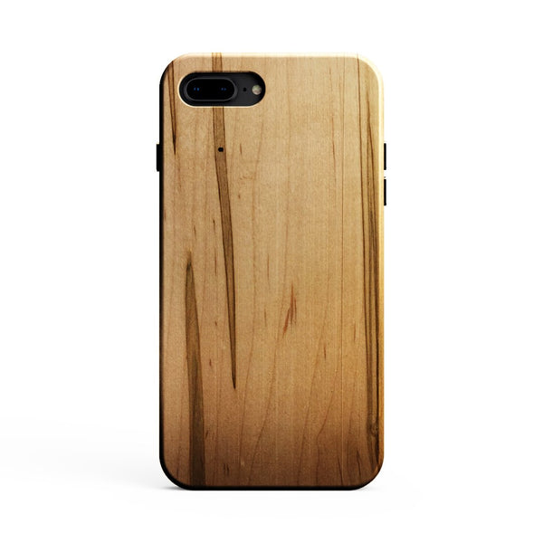 KerfCase Ambrosia Maple Wood Phone Case for iPhone 8 Plus