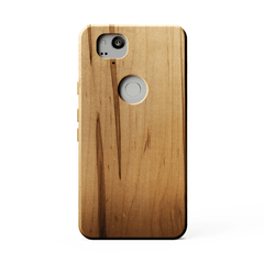 KerfCase Ambrosia Maple Wood Phone Case for Google Pixel 2
