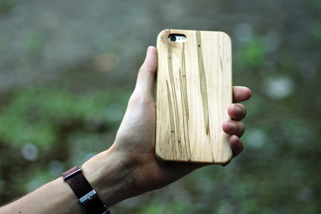 ambrosia maple wood iPhone 6/6s and 6/6s Plus Case - Lifestyle