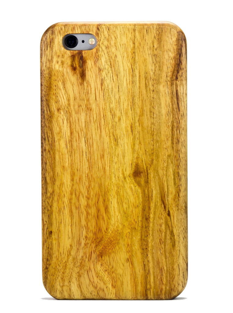 Natural Canary Wood Case for iPhone 7 - Lifestyle