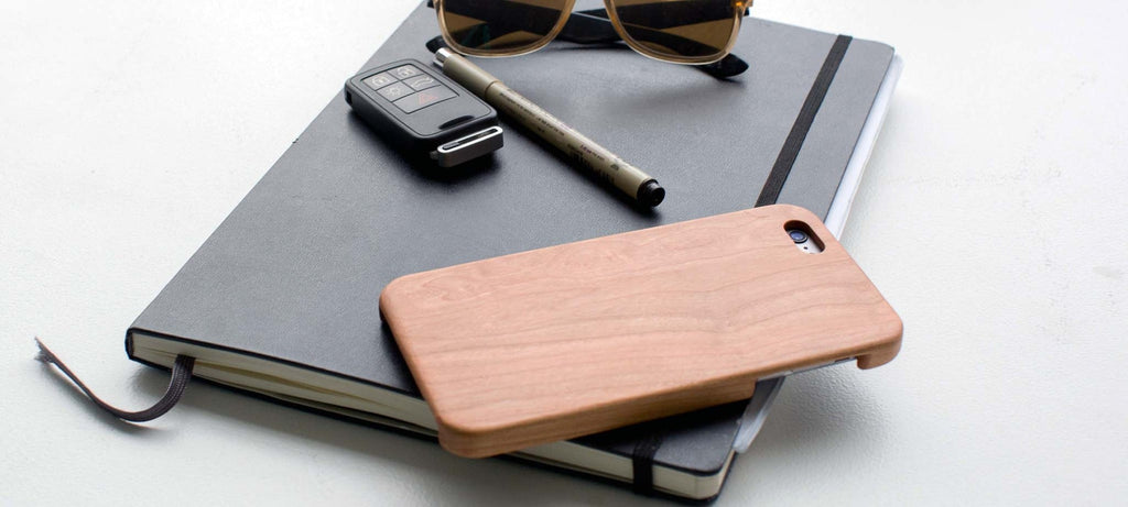 Cherry Wood iPhone 6 Plus / iPhone 6s Plus Case - Lifestyle