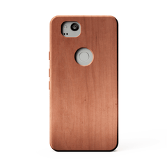 KerfCase cherry wood phone case for google pixel 2
