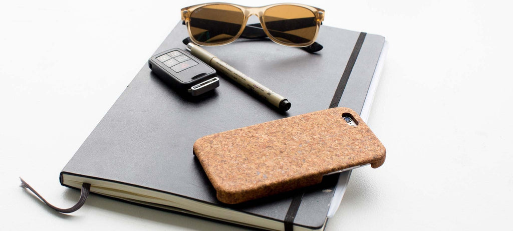 iPhone 7 Plus Case in Natural Cork - lifestyle