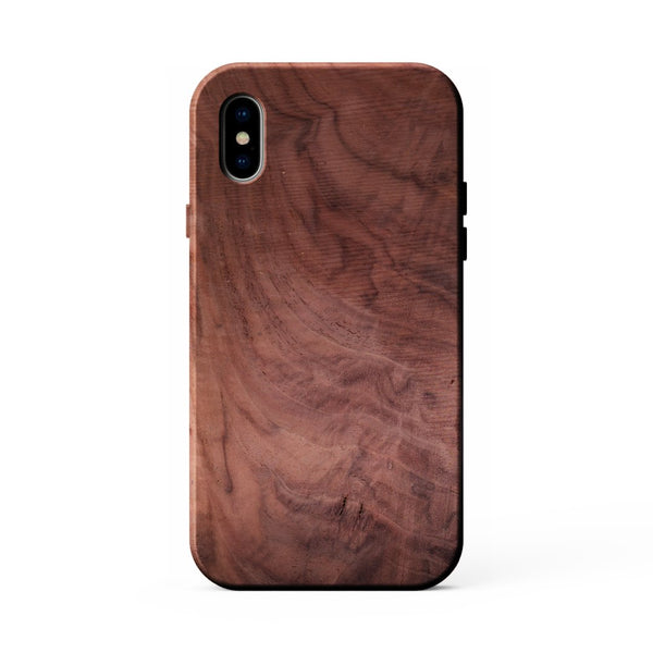 Figured Walnut Case for iPhone X