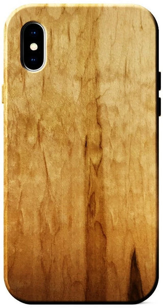 Figured Ambrosia Maple Wood Case for iPhone