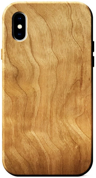 Figured Cherry wood case for iPhone