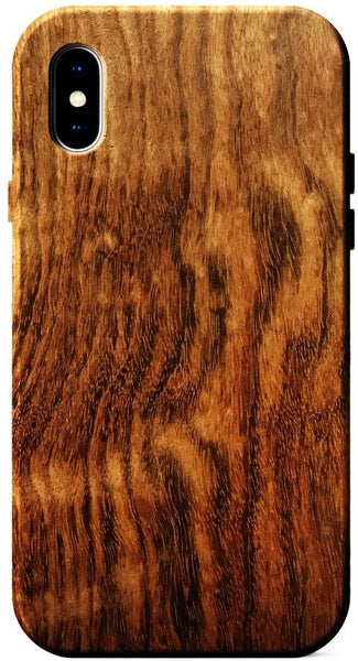 Figured rosewood wood case for iPhone