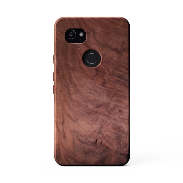 KerfCase Figured Walnut Case for Google Pixel 2 XL