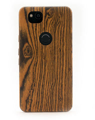 Google Pixel 2 XL Wooden Case - Bocote Wood - KerfCase