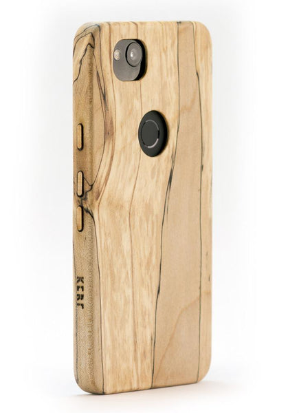 brand new 53360 156f0 Spalted Maple Wood Case for Google Pixel 2 XL