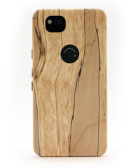 Google Pixel 2 XL Wooden Case - Spalted Maple - KerfCase