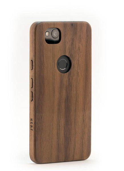 size 40 3c1f9 d4a39 Walnut Wood Case for Google Pixel 2 XL